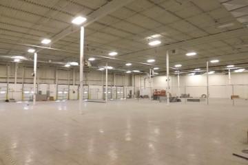 CAPS cold storage warehouse