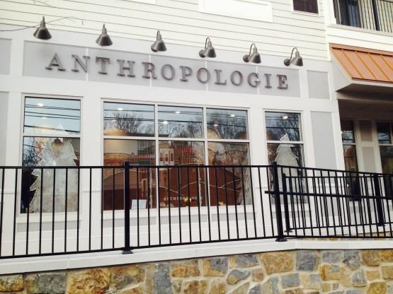 Anthropologie retail store, Newtown, PA