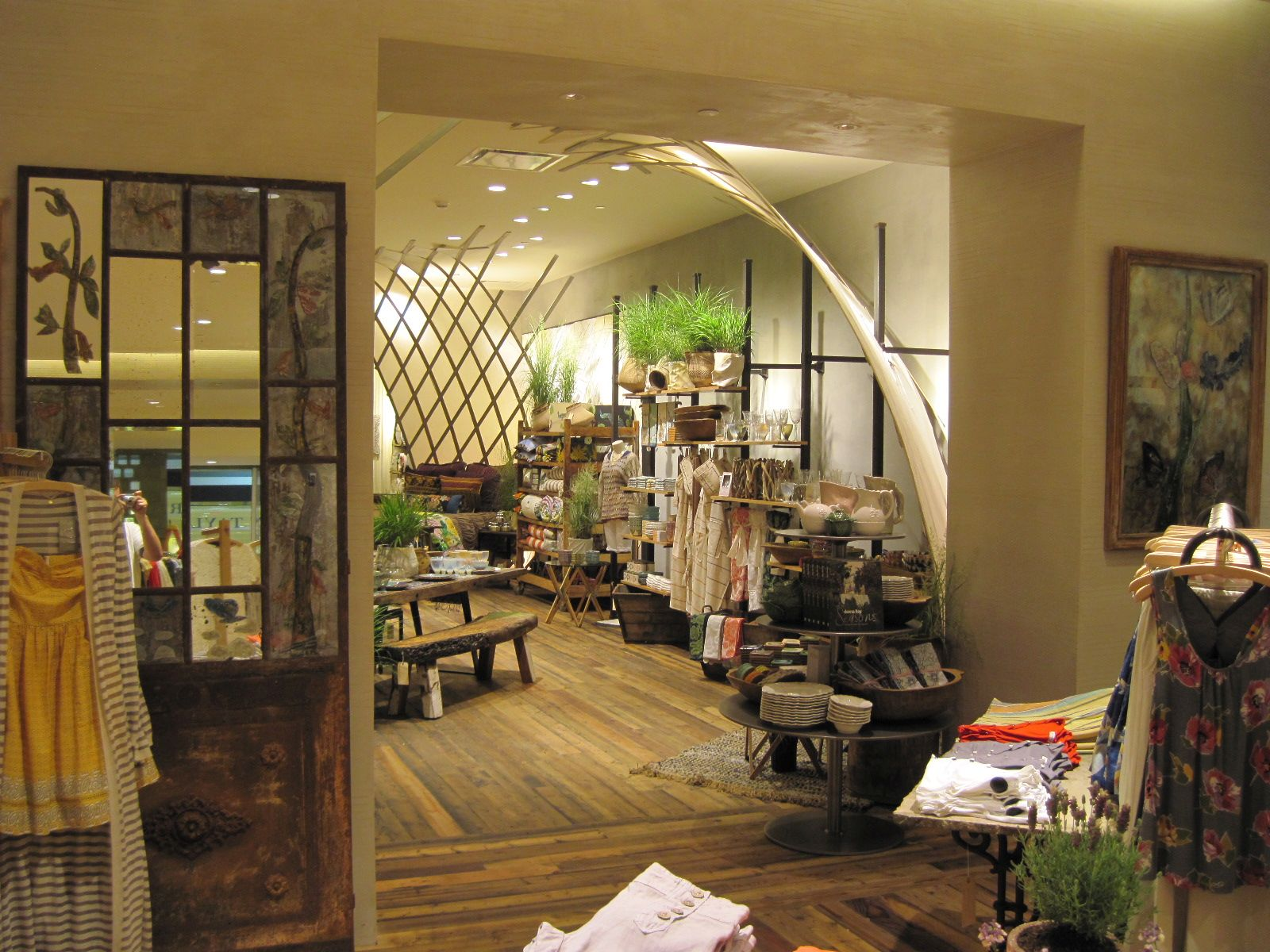 Anthropologie Retail Stores Blue Rock Construction Inc