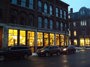 Anthropologie, Portland, ME