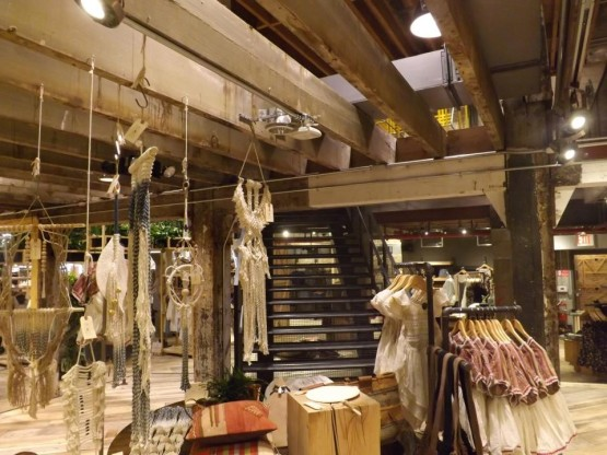Urban Outfitters Retail Store, Brooklyn, NY - Second Floor
