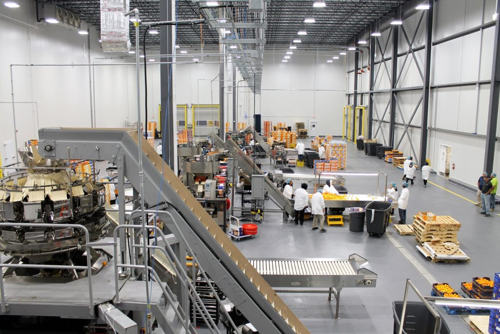 Greenyard USA - 20,000 square feet for production area