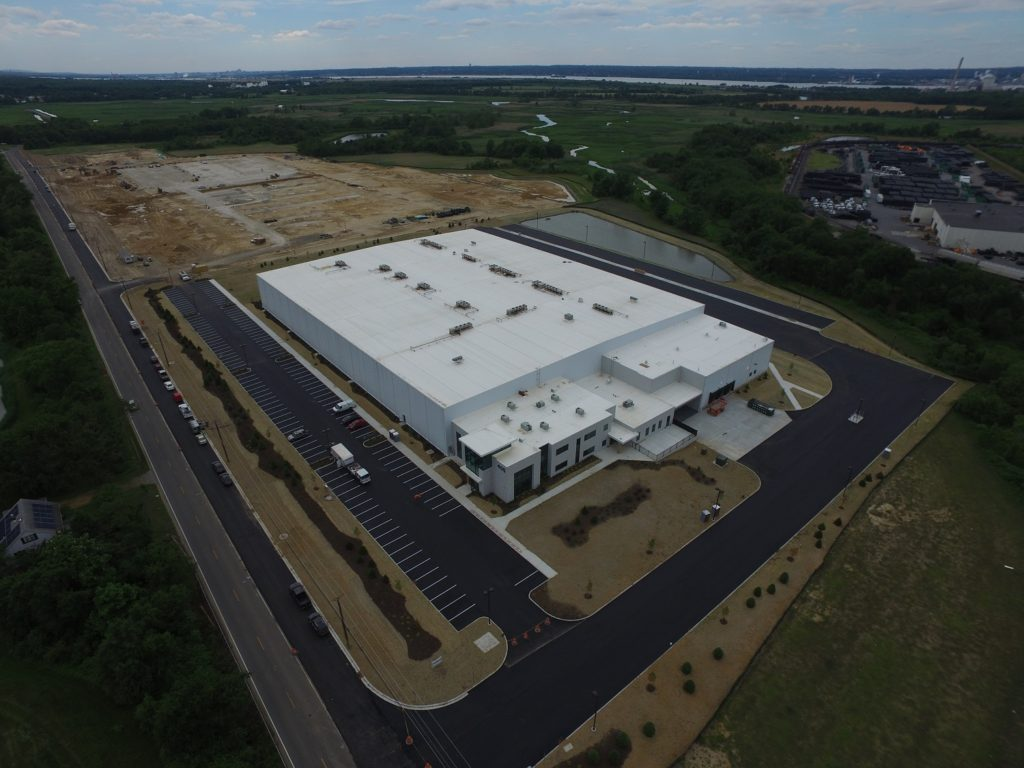 Greenyard USA - 1520,000-square-foot cold storage facility