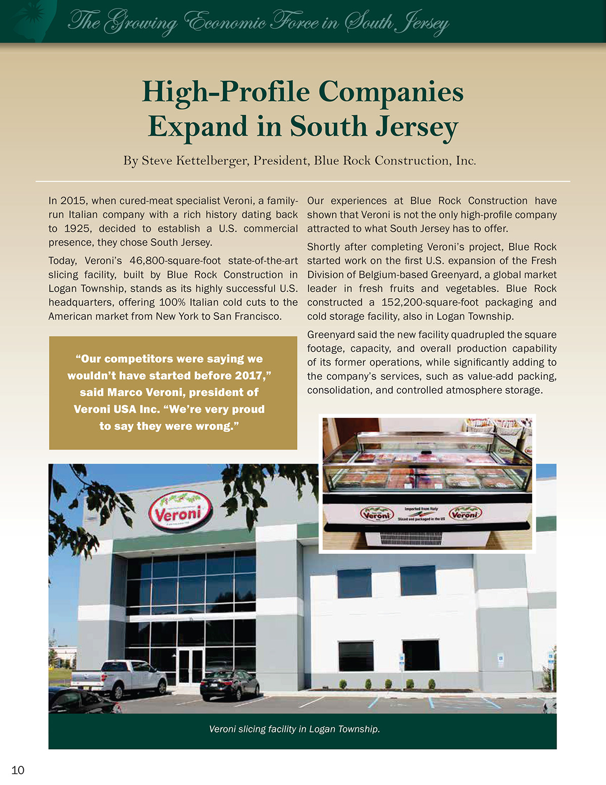 High-Profile Companies Expand in South Jersey - Blue Rock