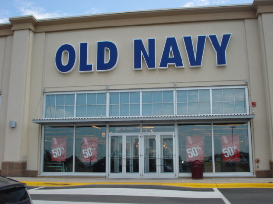 Old Navy retail space