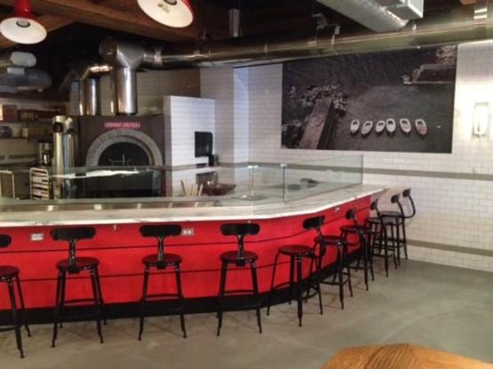 Pizzeria Vetri pizza counter