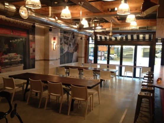 Pizzeria Vetri seating area