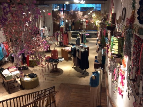 Free People retail store, Philadelphia, PA